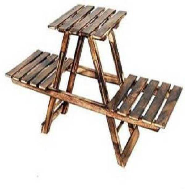 Unity Handicrafts Unity handicrafts stool bring handcrafted wooden coffee table. It is foldable and can be put away when not required.Crafted to give an antique look this product will definitely add to your home d'cor. Each piece is handcrafted and there maybe some variation in colour and design. made by high quality sheesham Wooden Antique Fordable Table With Hand Carving Work Living & Bedroom Stool
