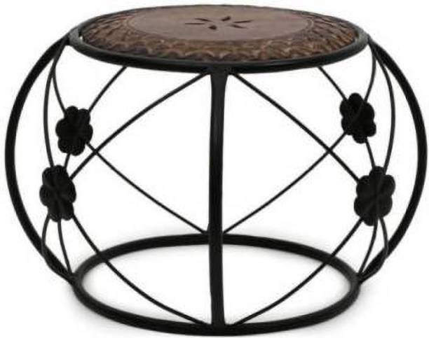 Unity Handicrafts Beautiful Design square Shape Table For Living Room Size(LxBxH-12x12x18 Inch Home decor table help accentuate the style of your other living room furniture. Usually placed at the home it is a very important component of the overall look of your living room.Wooden table comfortable and durable. Made from seasoned mango wood with hand carved design, crafted by our craftsmen Living & Bedroom Stool
