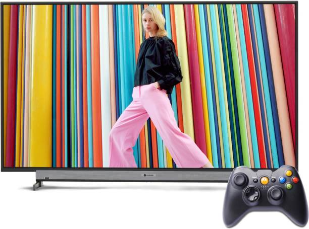 MOTOROLA ZX 80.5 cm (32 inch) HD Ready LED Smart Android TV with Wireless Gamepad