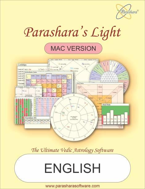 Parashara Light 9.0 English Mac Astrology Software (Professional Edition)