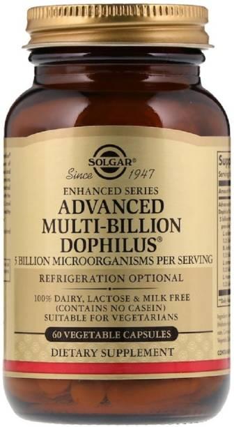 Solgar Advanced Multi-Billion Dophilus, 60 Vegetable Capsules