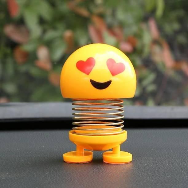 india fun zone sweet shaking head smiley emoji-1unit