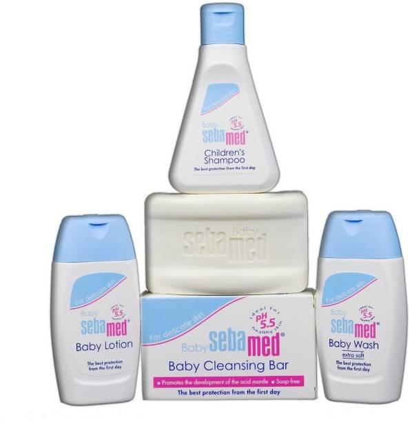 Sebamed Shampoo (50ml) lotion 50ml wash 50ml soap 100g