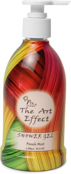 Fixderma The Art Effect Shower Gel For Clean and Non Drying hands With French Mist, Licorice root extract