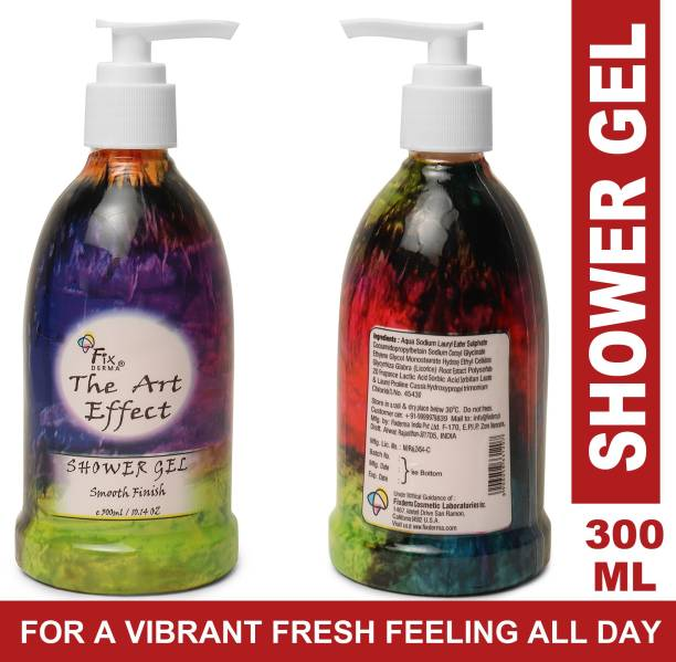 Fixderma The Art Effect Shower Gel For Clean and Smooth Finish Hand