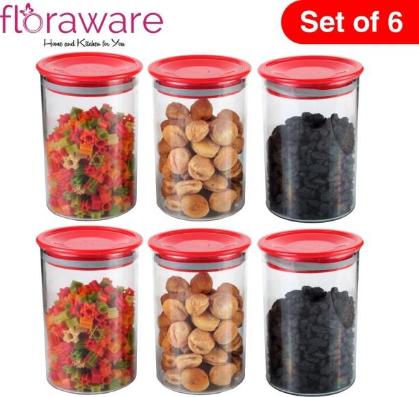 2X Dry Food Storage Container Large Plastic Box Cereal Dispenser Pasta Holder