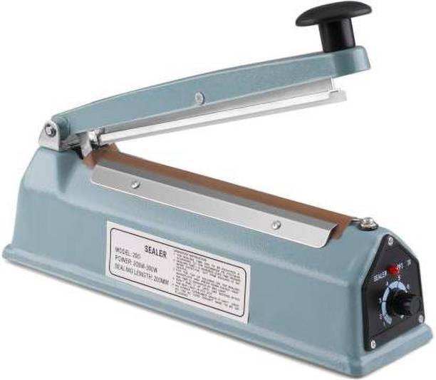 Zegel Heat Sealing Machine with Adjustable Timer Table Top Heat Hand Held Heat Sealer