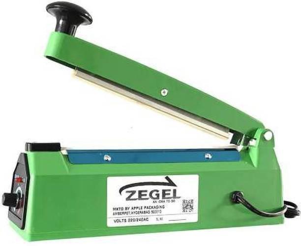 Zegel 200 MM Hand Sealing Machine For Plastic Packaging Super Fast Seal Hand Held Heat Sealer (200 mm) Hand Held Heat Sealer