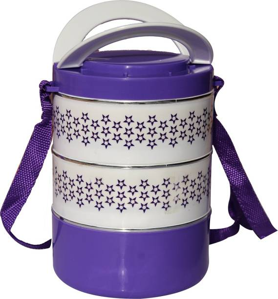 batwada export Lunch box 3 Containers Lunch Box