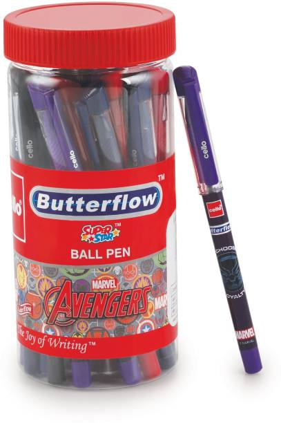 cello Butterflow Avengers Ball Pen