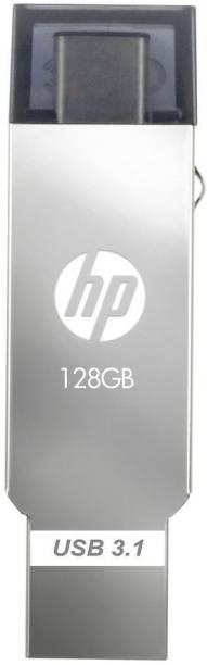 HP x304m C Type OTG 128 GB Pen Drive