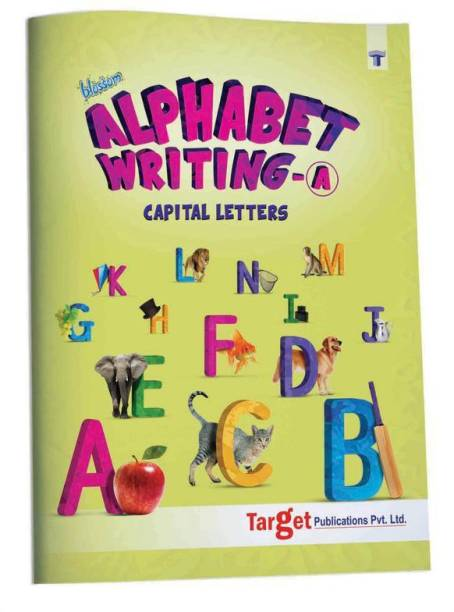 Blossom English Alphabet Writing Book (A) For Kids | Capital Letter Practice And Activities For Nursery Children | 70 Practice Boxes For Each Letter