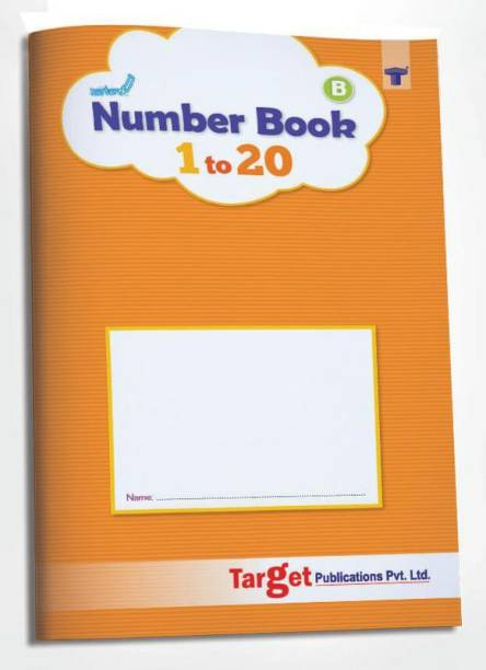 Nurture Number Writing Books For Kids | Part B - 1 To 20 | 3 To 5 Year Old | Practice Numbers And Learn Number Names | Includes Fun Activities For Early Learning Nursery, Preschool And Primary Children | 53 Practice Boxes For Each Number