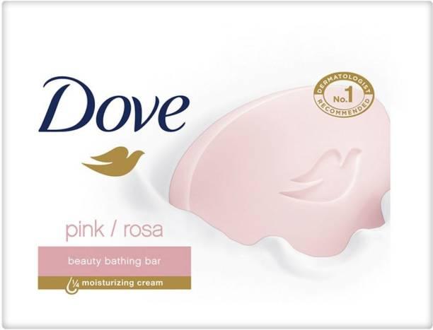 DOVE Pink Rosa Beauty Bathing Bar
