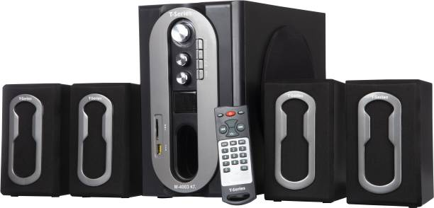T-Series M4003BT 4.1 Bluetooth Multimedia Speaker System Black 36 W Bluetooth Home Theatre