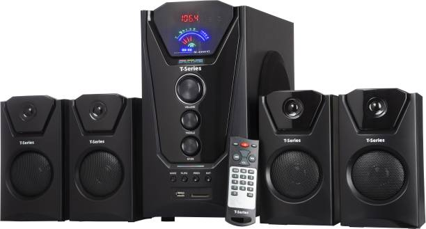 T-Series M-4444BT 4.1 Channel Bluetooth Multimedia Speaker System (Black) 40 W Bluetooth Home Theatre