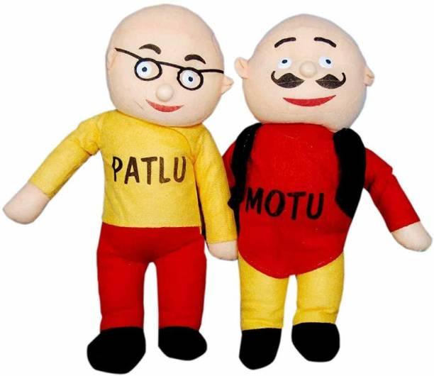 HATELLO Motu patlu Soft Toys for Kids (30 cm)  - 30 cm