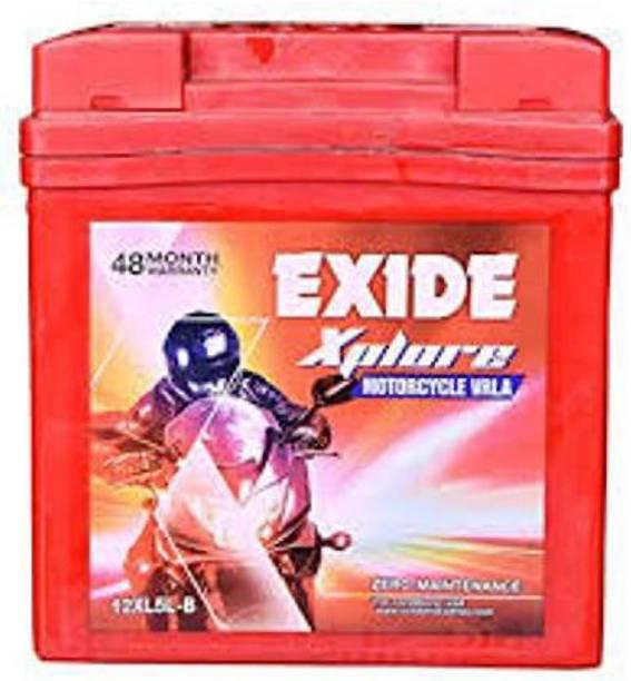 EXIDE FXL0-12XL5L-B 5 Ah Battery for Bike