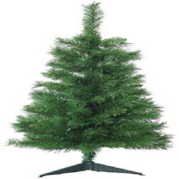 NIKYANKA Fir 61 cm (2.0 ft) Artificial Christmas Tree
