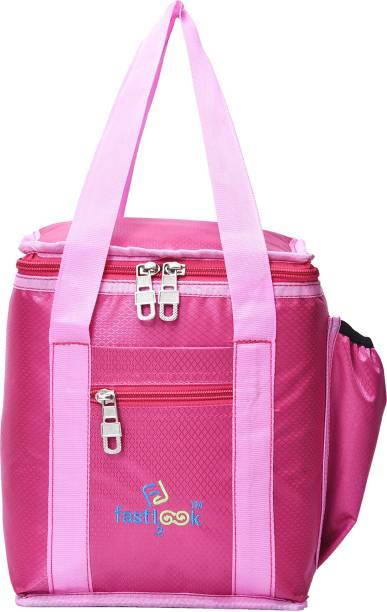 Fast look School and Office tiffin bags Lunch,Box,Bag, Keep Food Hot and Warm Waterproof Lunch Bag (pink) 8L Waterproof Lunch Bag
