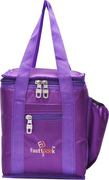 Fast look School and Office tiffin bags Lunch,Box,Bag, Keep Food Hot and Warm Waterproof Lunch Bag (purple) Waterproof Lunch Bag