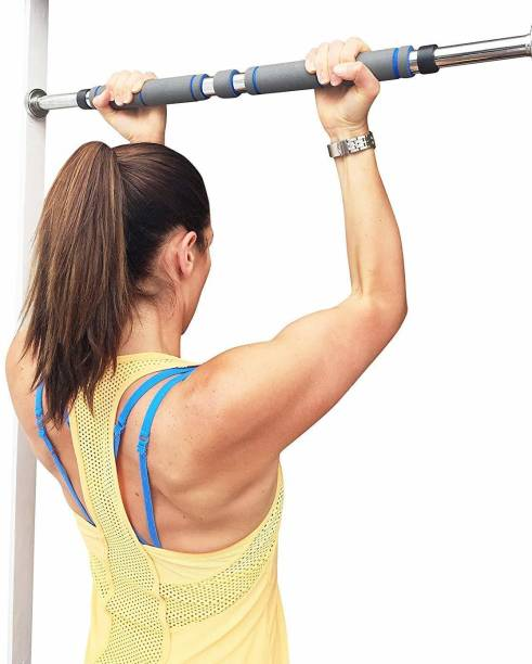 ShoppoWorld Door Way Pull up Bar for Home Wall Door Mount Chin up Bar for Gym Fitness Exercise Push-up Bar