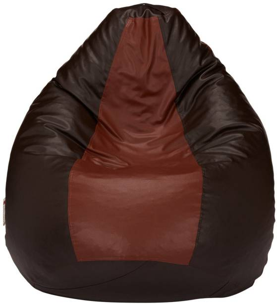 VSK Large Tear Drop Bean Bag Cover  (Without Beans)