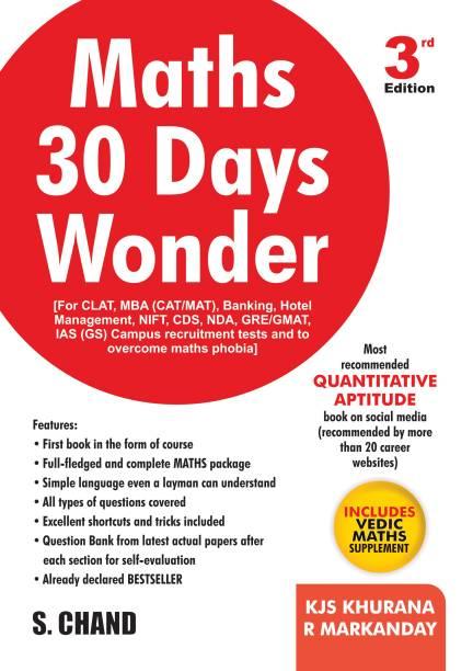 Maths 30 Days Wonder, 3/e