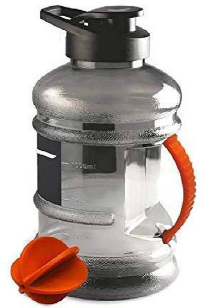 CASEMANTRA Sports Gallon 1.5L with Mixer Ball and Strainer 1500 ml Shaker