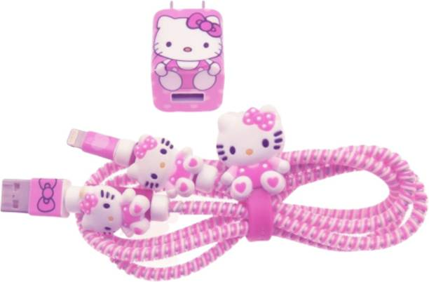 Gugzy 4in1ComboHelloKitty Cable Protector