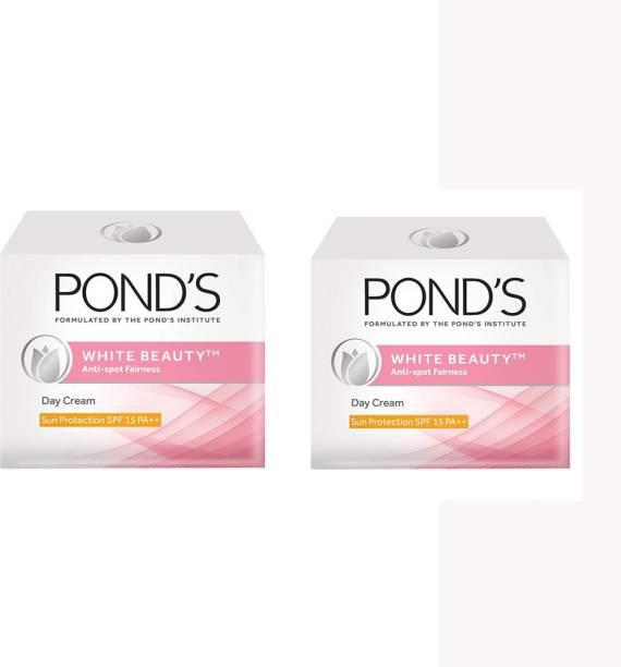 PONDS White Beauty Anti Spot Fairness Cream, 35g (Pack of 2)