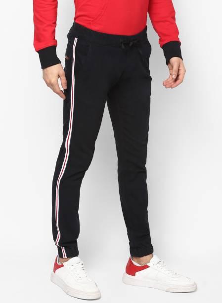 Urbano Fashion Slim Men Black Jeans