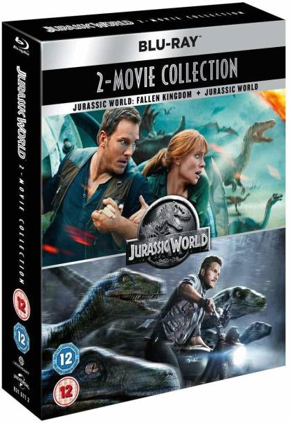 Jurassic World: The Complete 2 Movies Collection - Jurassic World: Fallen Kingdom + Jurassic World (2-Disc Set) (Slipcase Packaging + Region Free) (Fully Packaged Import)