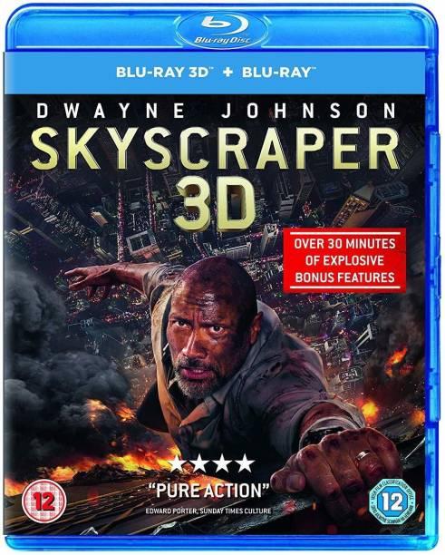 Skyscraper (Blu-ray 3D + Blu-ray + Digital Download) (2-Disc Set) (Slipcase Packaging + Region Free) (Fully Packaged Import)