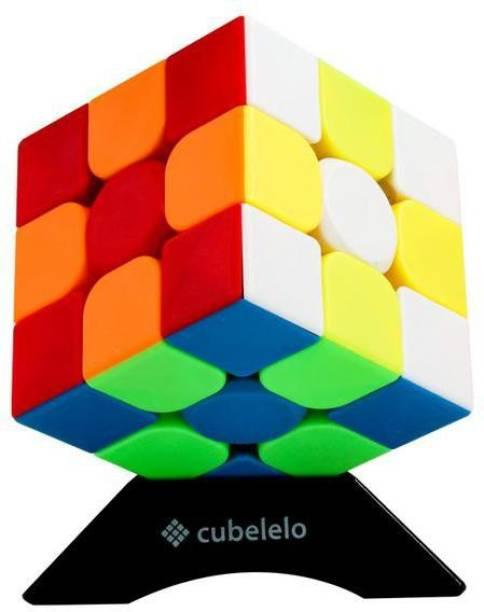 Cubelelo MoYu MeiLong 3C 3x3 Stickerless Cube Speedcube Magic Cube Puzzle Game Toy