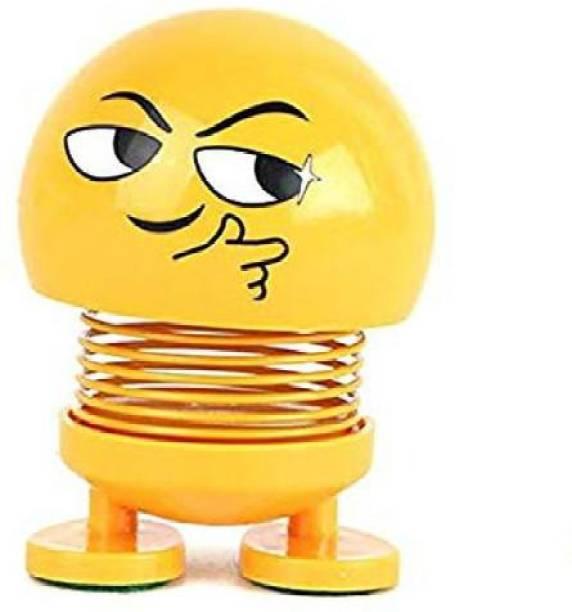 india fun zone shaking head toy doll smiley face decorative car dashboar funny emoji-1