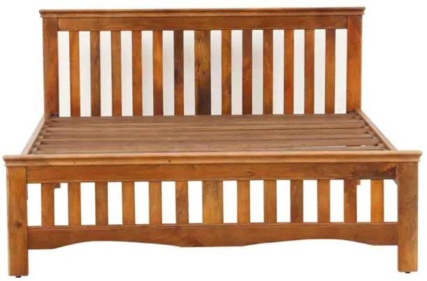 Versatile Solid Wood Queen Bed
