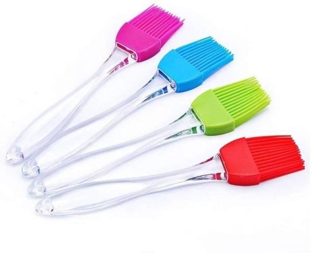 KITIKIN Silicone Flat Pastry Brush Silicone, fibre Flat Pastry Brush