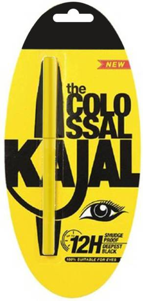 ARGLOBAL New york collosal deep black pencil kajal