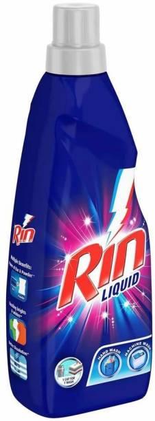 Rin Liquid Detergent, 430ml (Pack of 2) Multi-Fragrance Liquid Detergent