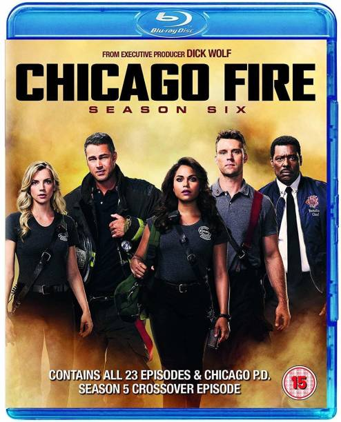 Chicago Fire: The Complete Season 6 (6-Disc Box Set) (Region Free) (Fully Packaged Import)