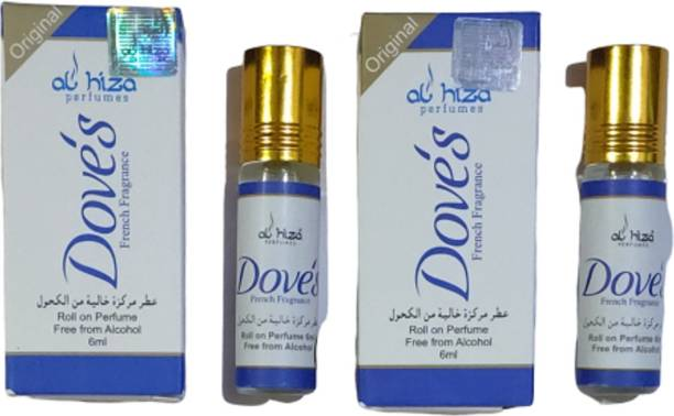 AL Hiza Dove's ( pack of 2 ) Floral Attar