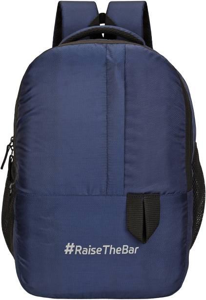 SASSIE 31 LTR Navy Blue Dynamic Backpack/Casual Bagpack/School Bag Waterproof School Bag