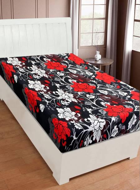 IWS 144 TC Microfiber Single 3D Printed Bedsheet