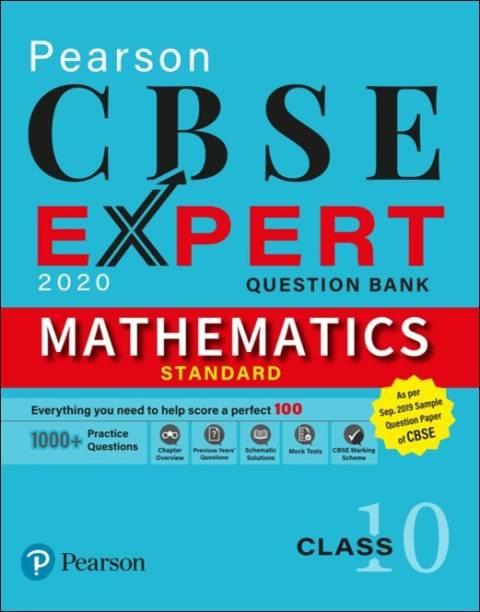 CBSE Expert | Mathematics Question Bank for Class 10 | As per CBSE September 2019 SQP & Marking Scheme | 2020 Edition