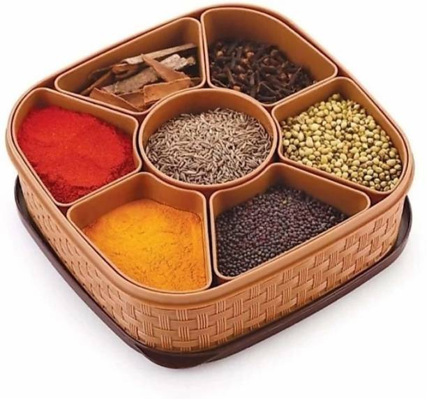 HUMBLE KART Spice Container And Masala Box  - 10 ml Plastic Spice Container