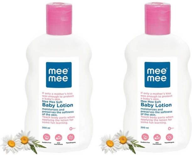 MeeMee Baby Lotion (500ml, Pack of 2)