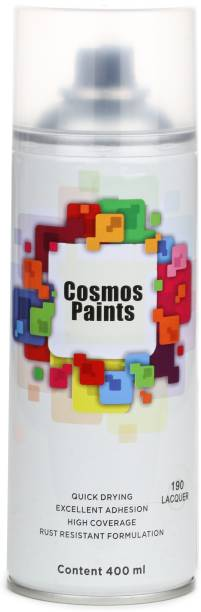 Cosmos Paints Clear Lacquer Spray Paint 400 ml