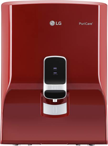 LG WW130NP 8 L RO Water Purifier With Dual Protection Stainless Steel Tank, Wall Mount