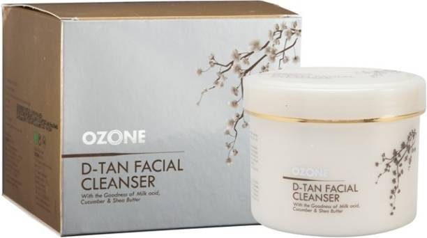 OZONE D Tan Facial Cleanser with the Goodness of Cucumber, Milk & Shea Butter
